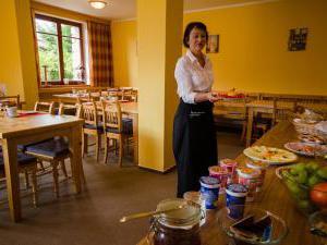 Harrachovská Hacienda - Bufetová snídaně